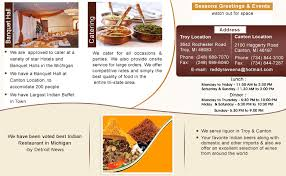 indian cuisine menu ashoka indian cuisine