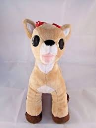dollywood rudolph red nosed reindeer clarice plush 12
