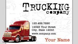 trucking business card white business cards wedding flickr