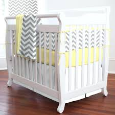 articles with gray and yellow chevron nursery bedding tag cool