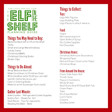 elf on the shelf planning guide