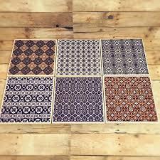 moroccan ceramic coaster set of 6 moroccan home decor middle
