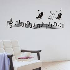 ebay musical butterfly music notes wall sticker decal hanging high quality music note art promotion shop for high quality musical notes wall decor awesome musical