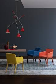 color trends how to use modern lamps to decorate with red scarlet