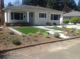 true low maintenance landscape uses synthetic lawn landscape