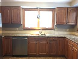 kitchen cabinet img oak kitchen cabinets our makeover toned gray