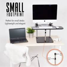 simple standing desk converter uptrak sit stand desk converter standing steady uptrakbl 839 jpg v 1520438377