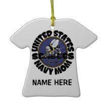 u s navy glass flagornament item na4141 navyornaments