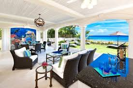 Exotic Interior Design by Fathoms Villa A Luscious Barbadian Residence Featuring Exotic