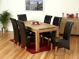 solid oak table with 6 chairs oak kitchen table and 6 chairs solid wood dining table and chairs