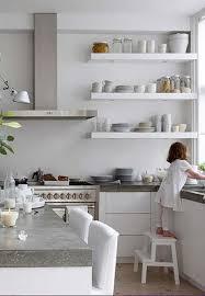Ikea Metal Kitchen Cabinets by Redoing Metal Open Wall Shelves Ikea Kitchen Stainless Steel Shelf