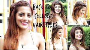 heatless hairstyles watch back to school heatless hairstyles 5 cute and easy video