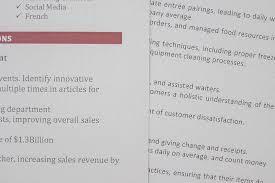 resume paper comparison resume genius