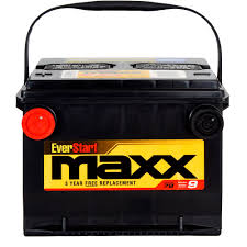 everstart maxx lead acid automotive battery group size 78n
