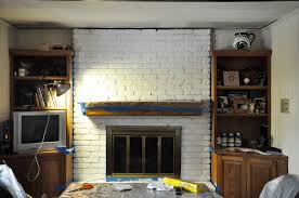 awesome how to paint a fireplace on unwrapping a beautifully