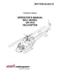 bell uh 1h ii helicopter flight manual throttle seat belt