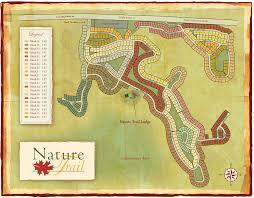 Pensacola Map Nature Trail Pensacola Florida Site Plan