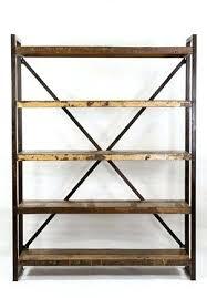 Industrial Bookcases Bookcase Open Shelf Bookcase White Open Bookshelf Room Divider