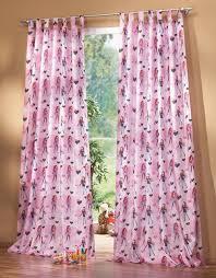schlaufenschal kinderzimmer kinderzimmer gardine schlaufenschal set motiv pink schöner