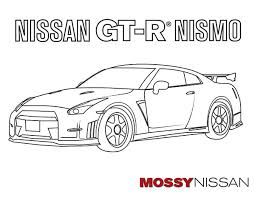 free car coloring pages adults kids mossy nissan