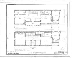 House Rules Floor Plan Plans Of The James Charnley House Chicago Illinois 1891