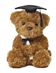 graduation bears world plush graduation black cap 8 5