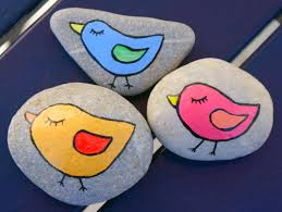 Painting Ideas For Kids Easy Rock Painting Animal Chicken Design Ideas For Kids