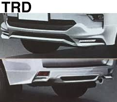 2018 toyota land cruiser prado facelift trd accessories leaked