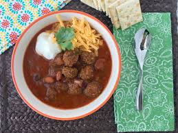 meatball chili recipe for stove top or slow cooker must have mom