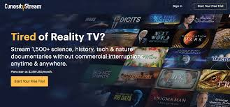 curiositystream review 2017 free trial channel list cost and