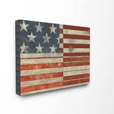 Wooden Nautical Flags Distressed American Flag Oversized Wooden Plaque Free Shipping