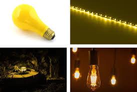 yellow led light bulbs warm yellow led light bulbs and do led lights attract bugs