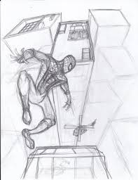 the amazing spider man sketch w i p by constantscribbles on