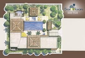 Garden Floor Plan Floor Plans Sai Taan Phuket Property