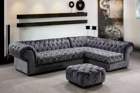grey fabric modern living room sectional sofa w wooden legs divani casa metropolitan modern grey fabric sectional ottoman w