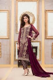 exclusive boutique bridal dress in purple design exclusive