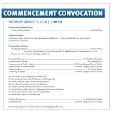 commencement convocation