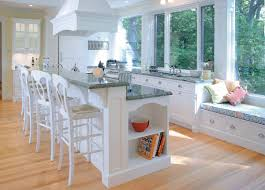 furniture traditional kitchen islands with white stools and