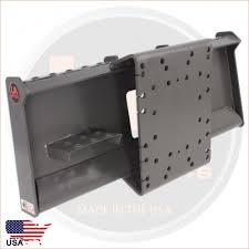 hydraulic concrete breaker skid steer mount plate united attachments