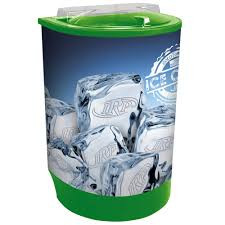 ice bin merchandiser