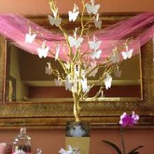 Birthday Wish Tree Table Decorations Ideas For Christening Baby Baptism Decorations