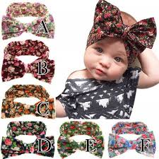 baby headwrap soft floral bow baby headwrap headband