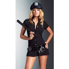 Halloween Costumes Police Arresting Officer Police Woman Fancy Dress Costume