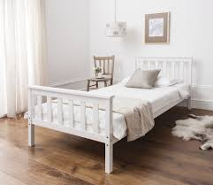 Cheapest Single Bed Frame Single Bed In White 3ft Single Bed Wooden Frame White Bed