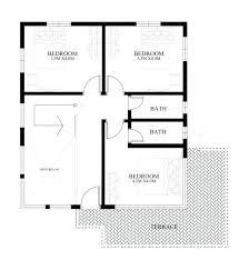 modern house blueprints 2 bedroom modern house plans diiva
