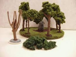 make your own miniature trees fabric follies two