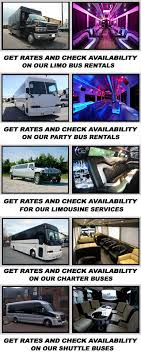 fan van party bus party bus tallahassee fl save up to 20 on party buses