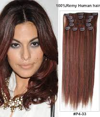 clip on hair 18 clip in extensions piano colors