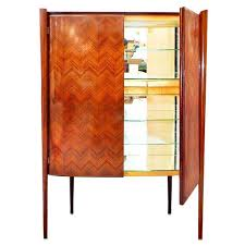 free standing bar cabinet rare italian art moderne freestanding bar cabinet by paolo buffa