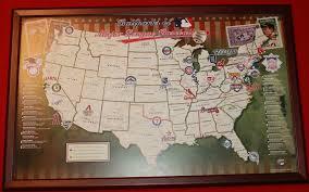 Milb Map Popular 176 List Mlb Stadium Map